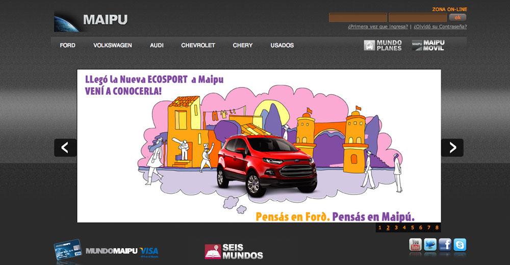 Maipú – Sitio Web