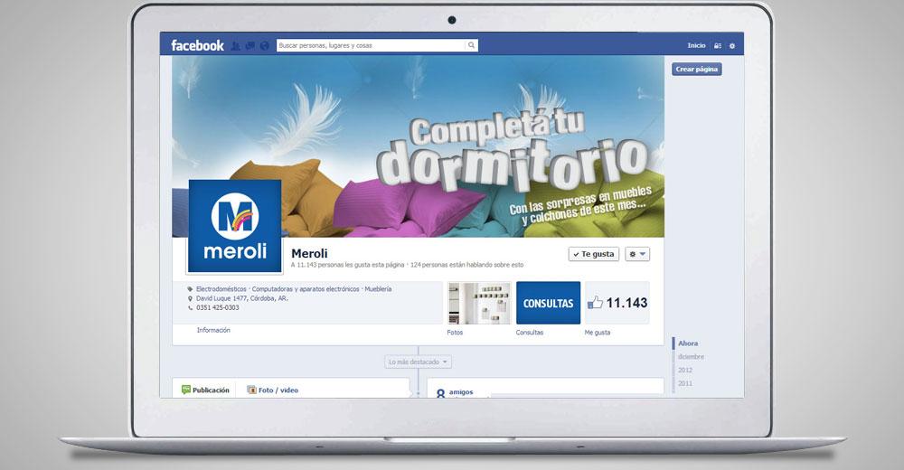 Meroli – Concurso Facebook