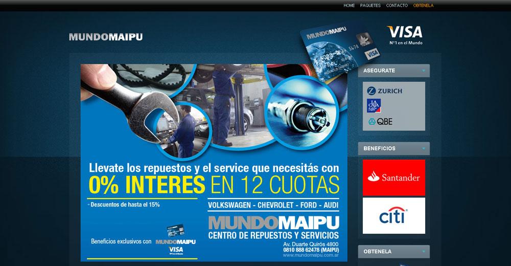 Maipú Visa – Sitio Web