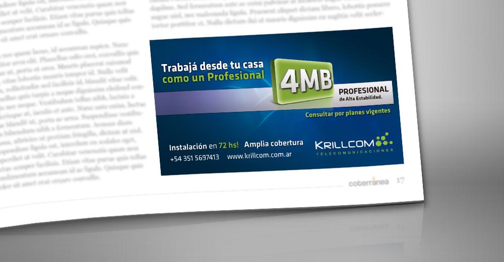Aviso Revista Krillcom